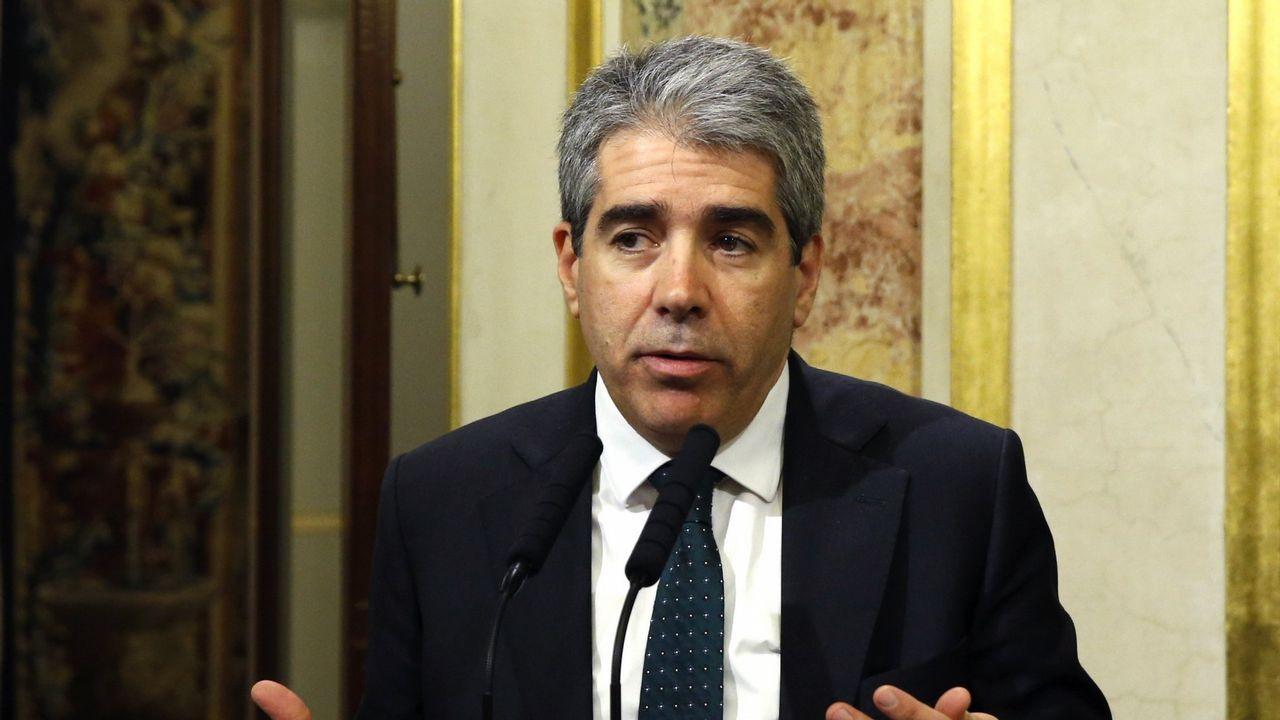 Francesc Homs. El exconsejero y exdiputado está condenado por el 9N