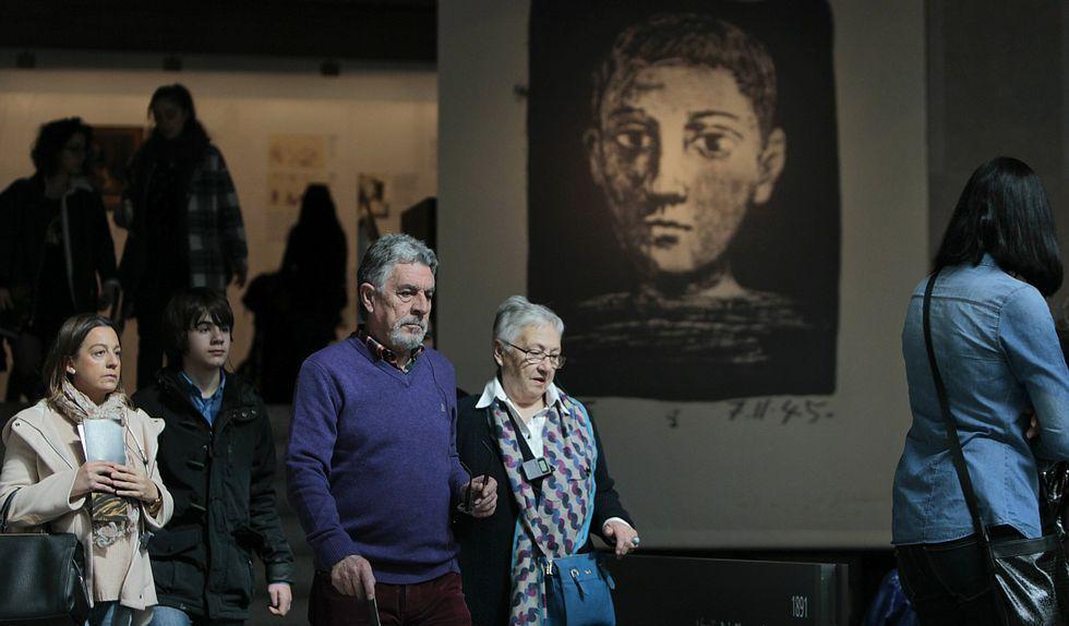 El Museo de Belas Artes habilitó horarios especiales para facilitar las visitas que varios días superaron las 1.300 personas.