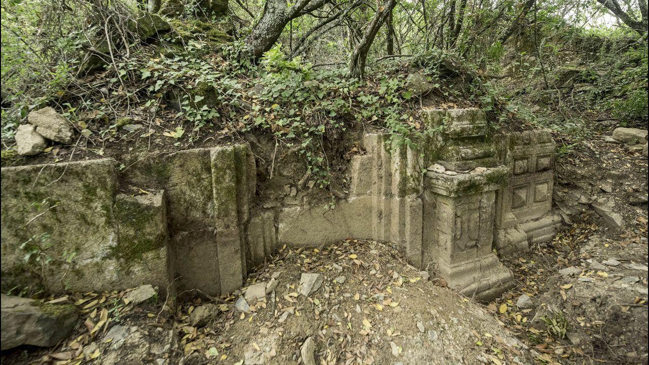 Otro aspecto de las ruinas de la iglesia de San Antonio