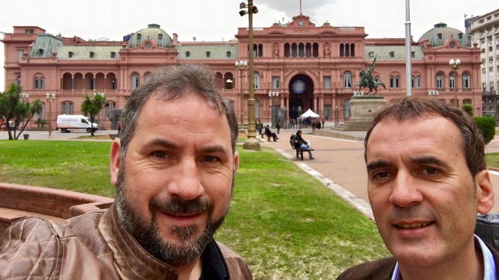 La Policía registra la sede del PSG y las viviendas de Di María y Pastore.Nave de la empresa Espina