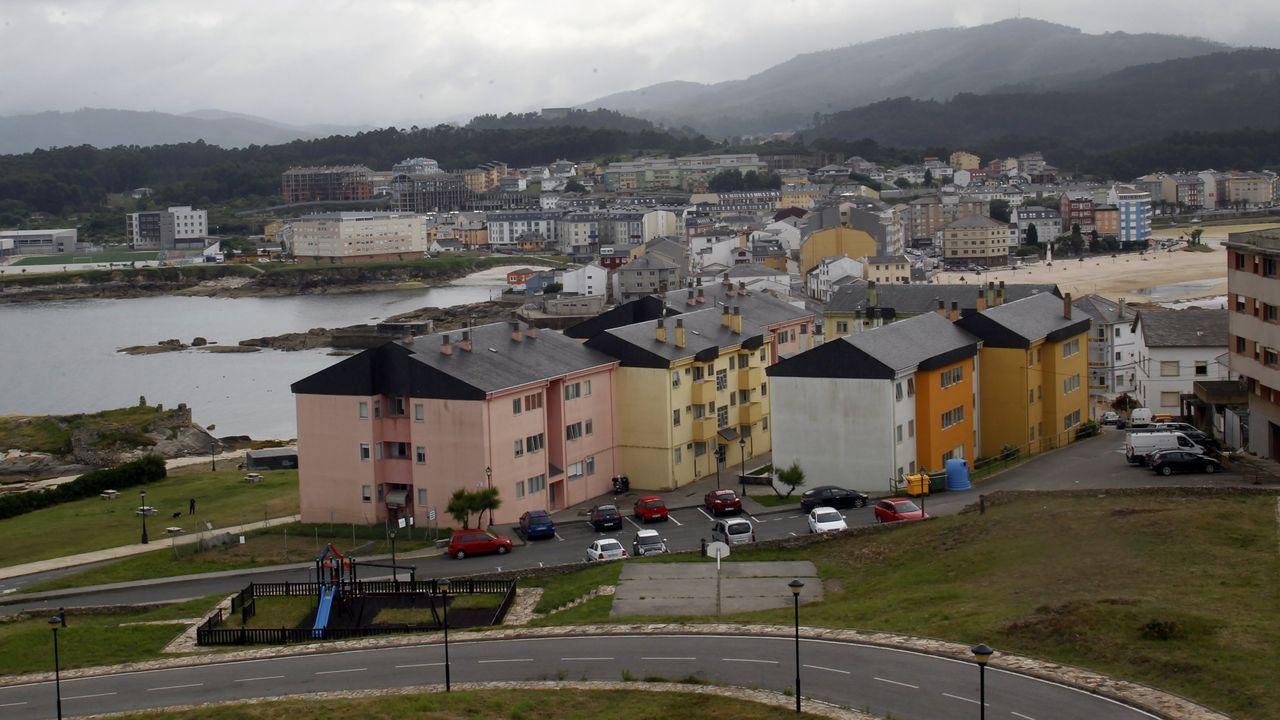 San Cibrao, en una foto de archivo, es la localidad más poblada del municipio de Cervo, donde el portal inmobiliario que lo sitúa como el más económico de Galicia anuncia 80 viviendas nuevas y usadas en venta