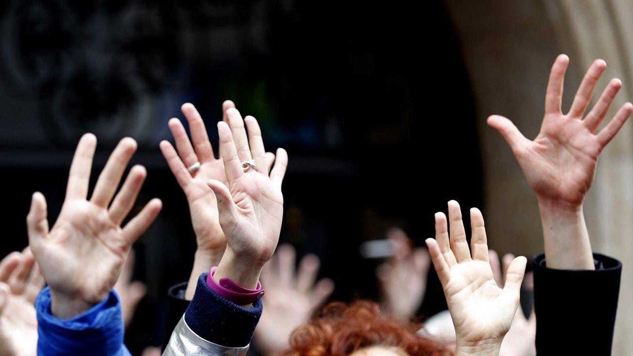 «Me violaron y me mataron»: la defensa de las mujeres asesinadas a través del movimiento #cuéntalo.Fernández dirigió en Mariñán la escuela de verano de los jueces