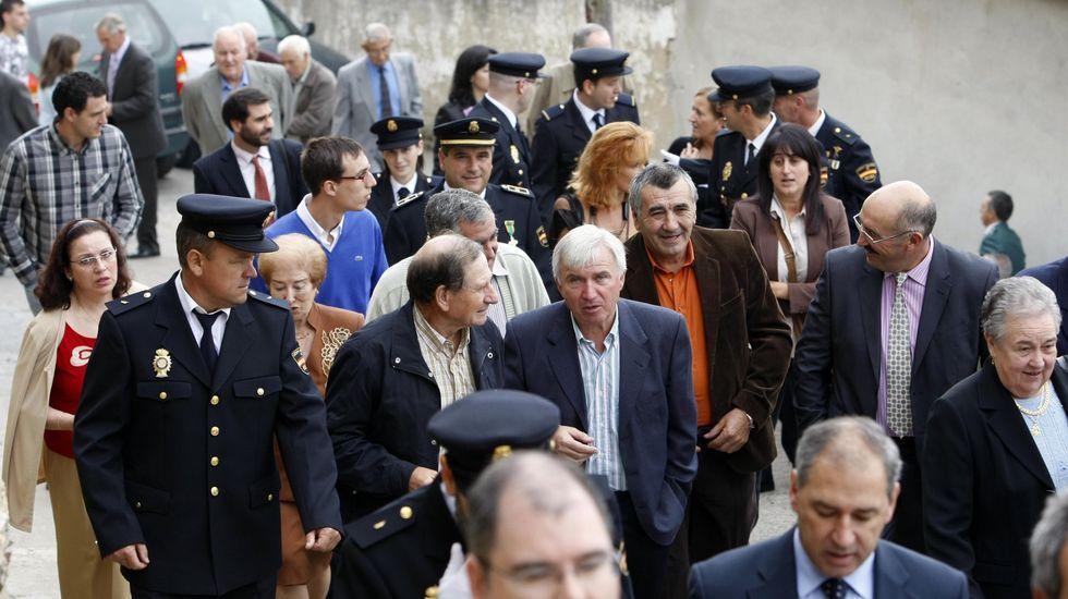 Fotografía de archivo de una conmemoración del día de los Ángeles Custodios en Monforte