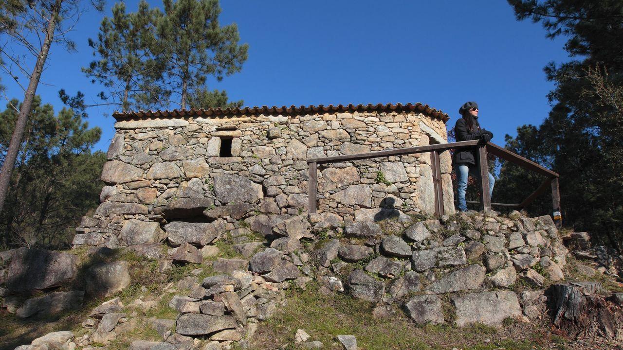 Entre los residuos recuperados entre Oia y A Guarda, se encontraron aparejos de pesca.