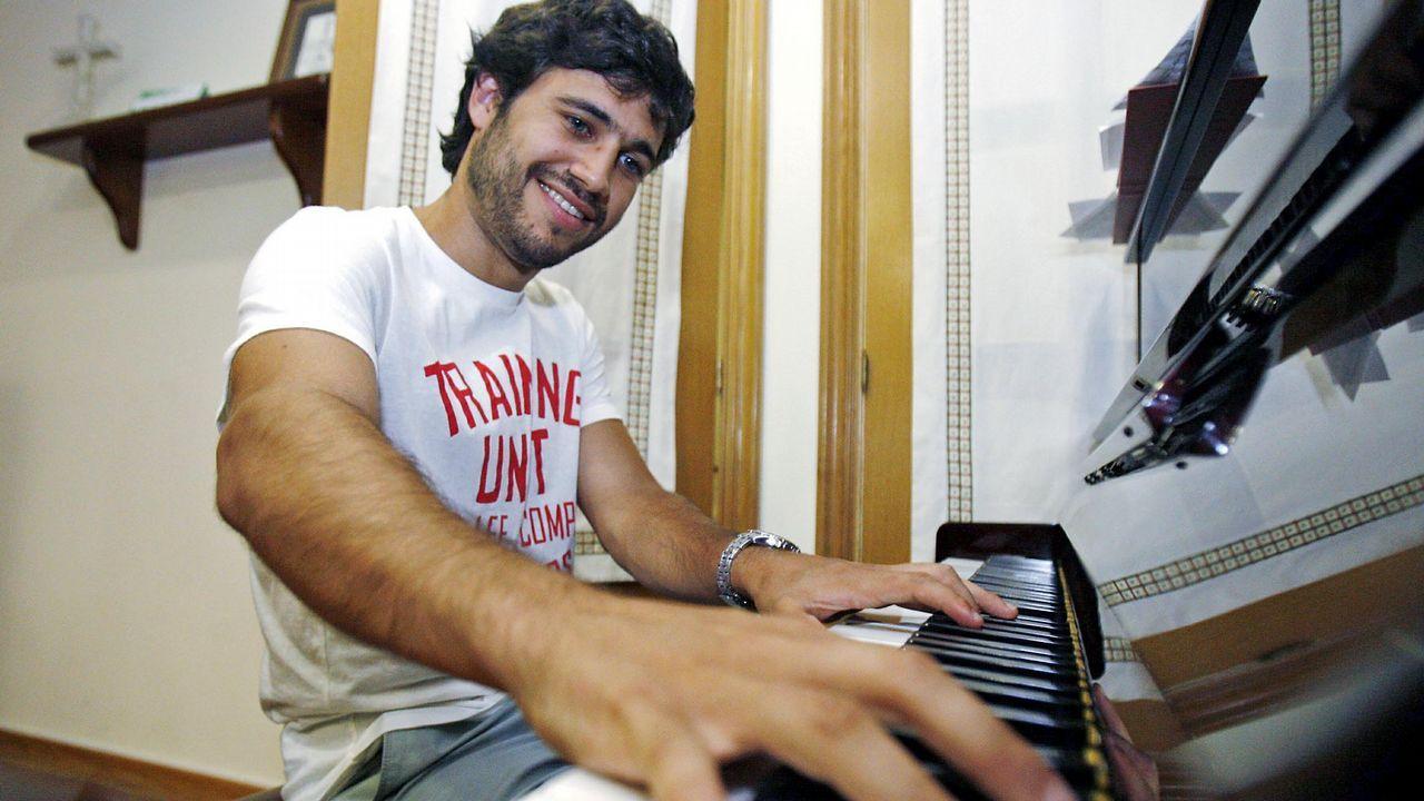 Melendi estrena su nuevo videoclip«Lo que nos merecemos».Gabriel Peso, pianista, actúa esta semana en Galicia
