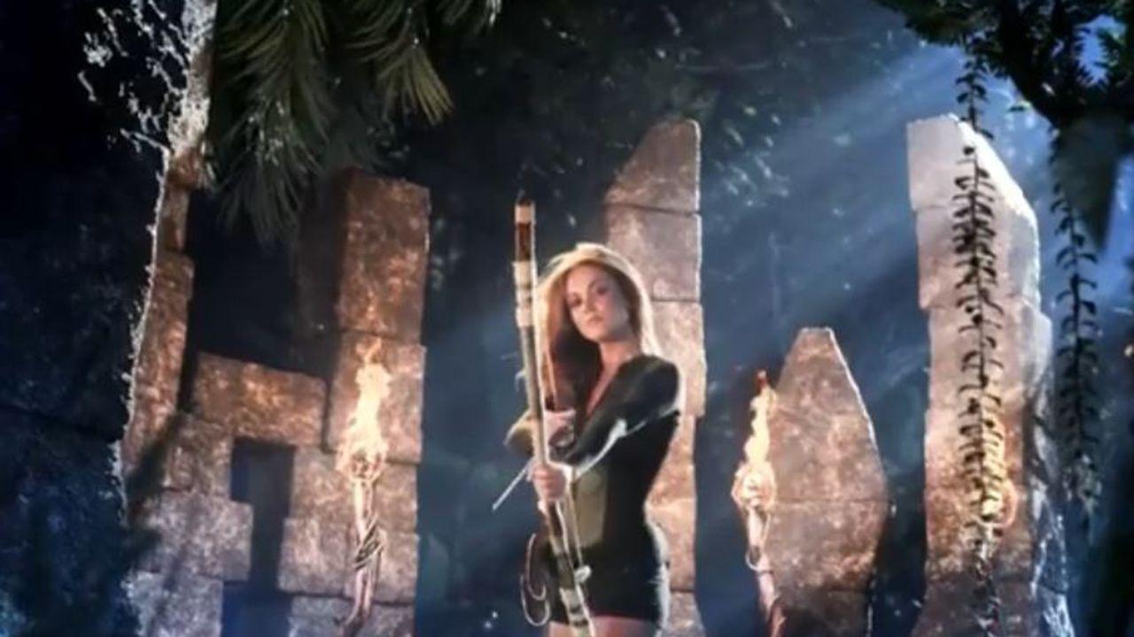 Lara Álvarez en el vídeo promocional de la nueva edición de Supervivientes