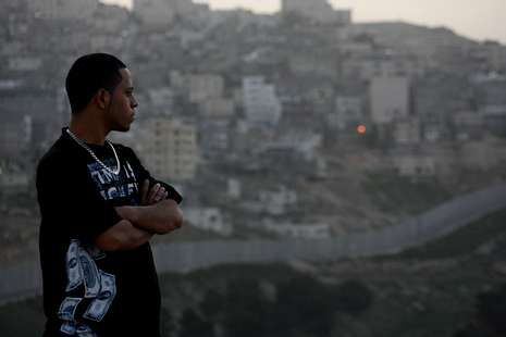 portadah.«Shootin Muhammad» relata el conflicto palestino.