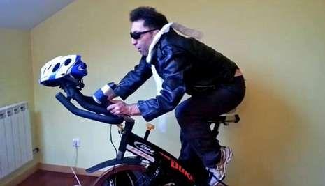 Un fotograma del vídeo de menos de un minuto que protagoniza Víctor Fábregas.