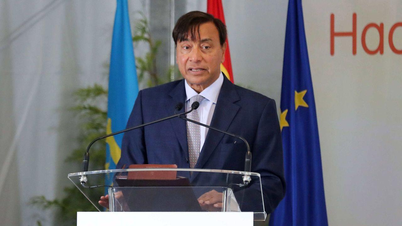 El consejero delegado de ArcelorMittal, Aditya Mittal
