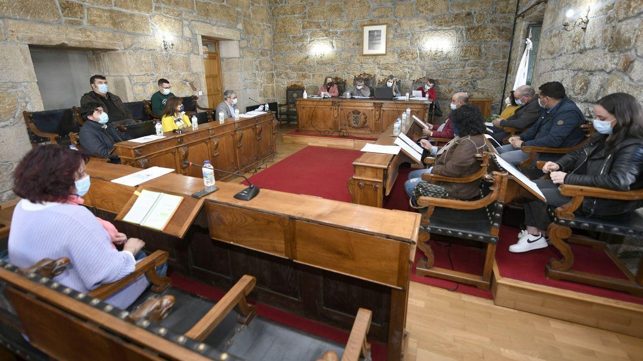 Reunión de los cargos de la Consellería de Infraestruturas con los del Ministerio de Transportes