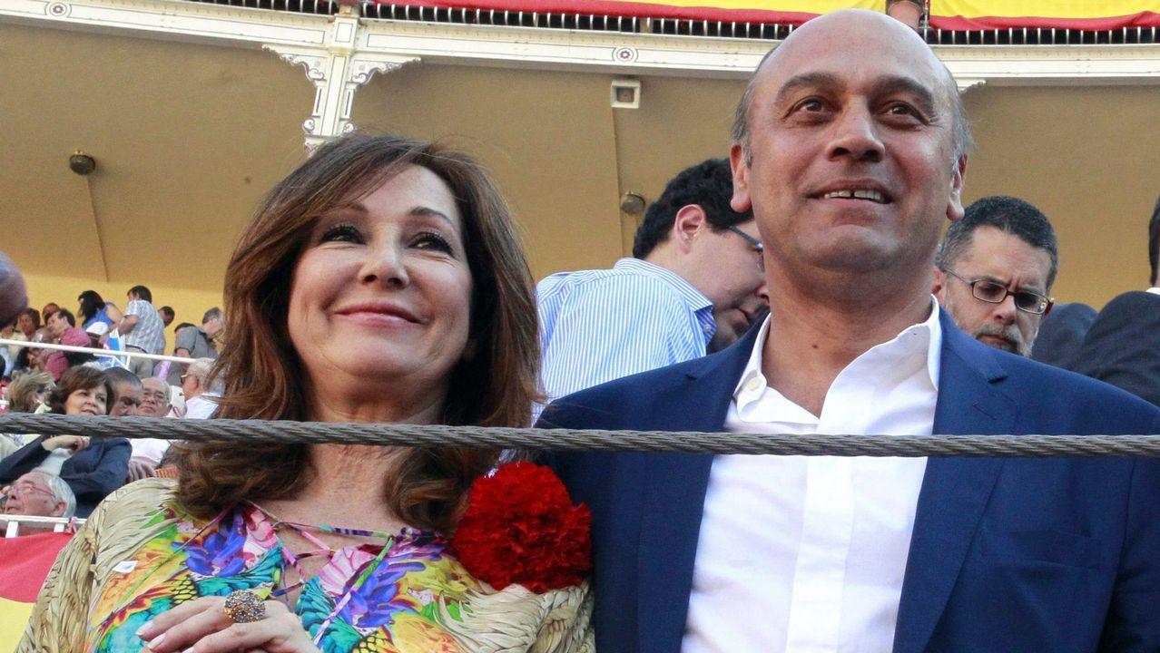 Ana Rosa Quintana y Juan Muñoz, en una imagen de archivo