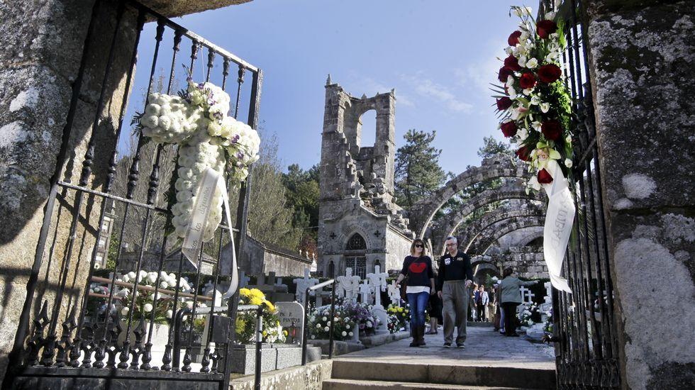 Cementerio de Santa Mariña, en Cambados