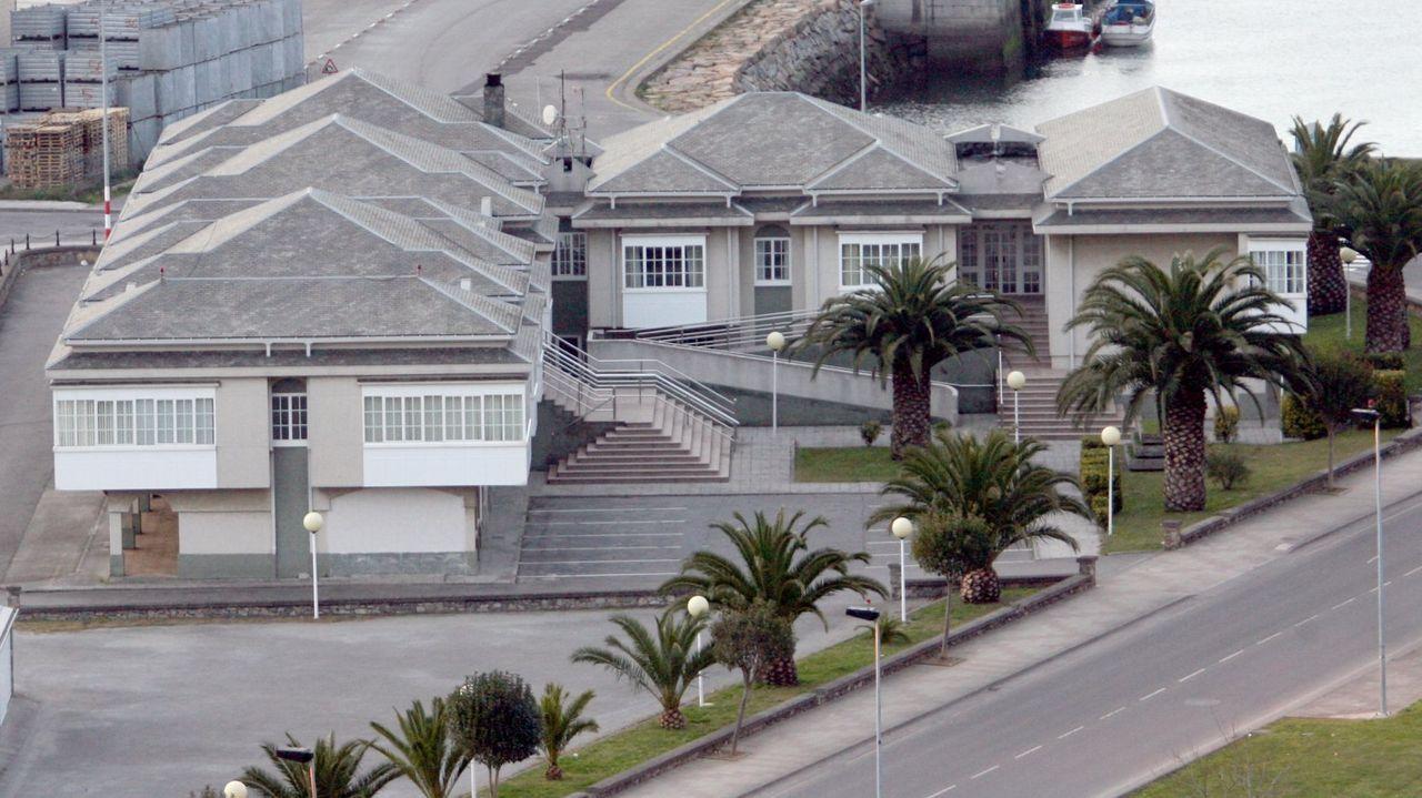 La Xefatura Territorial de Mar en Celeiro, en una foto de archivo