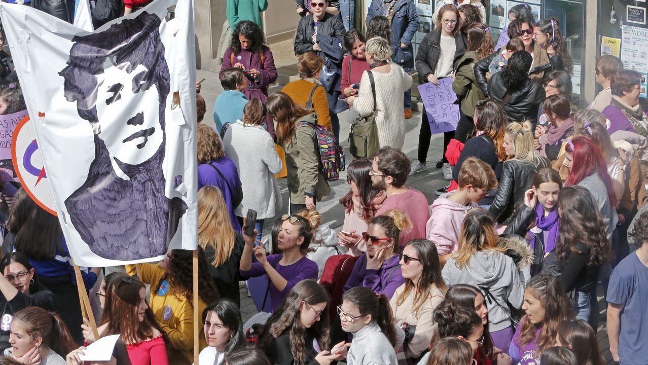 Manifestación en Pontevedra.Manifestación en Pontevedra