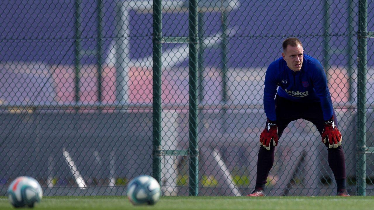 Así fue la charla sobre fútbol entre Eusebio Sacristán y Sergio González.Jorge Menéndez Vallina en El Requexón