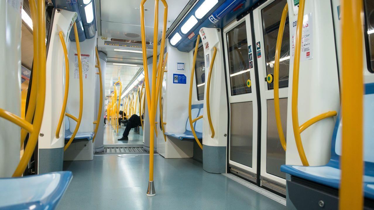 El metro de Madrid, en una imagen de archivo