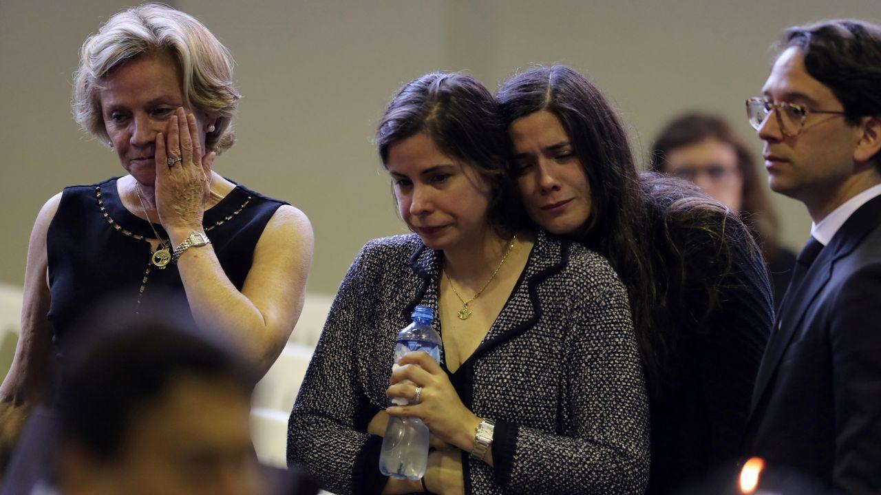 Luciana García, hija del expresidente Alan García, leyó la misiva que dejó su padre antes de suicidarse