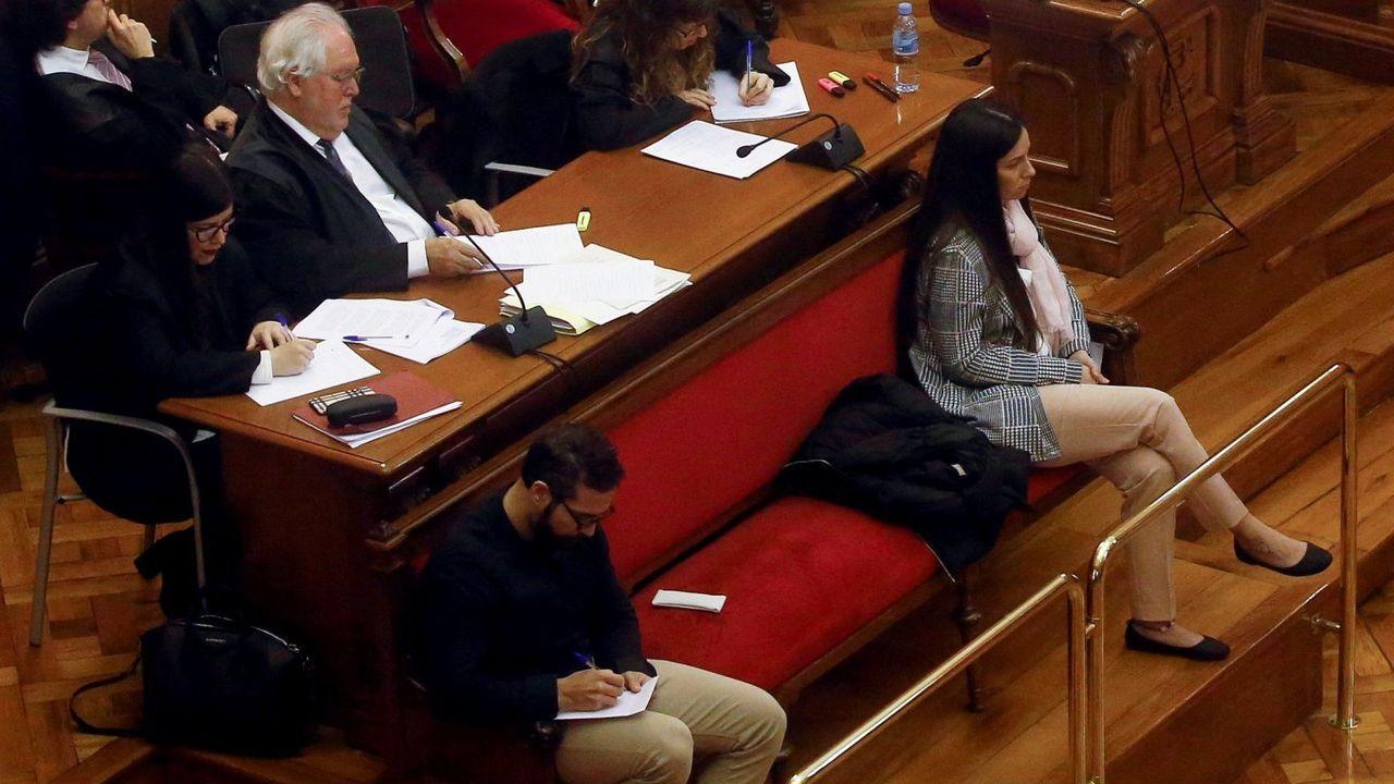 Los dos acusados del crimen de la Urbana, durante el juicio