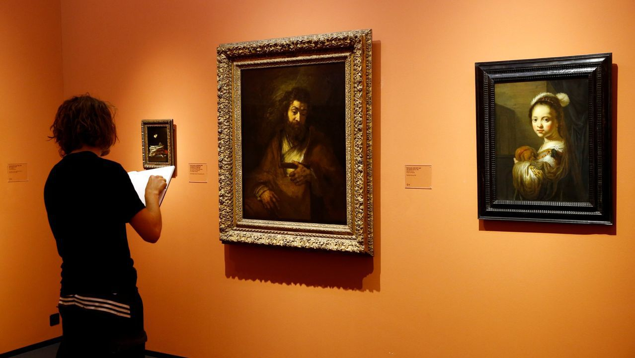 El antes y el después de los Cantones.Exposición de Rembrandt en el Museo de Arte de Zúrich.