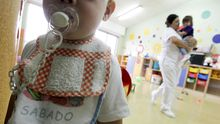 Una escuela infantil, antes del confinamiento por coronavirus