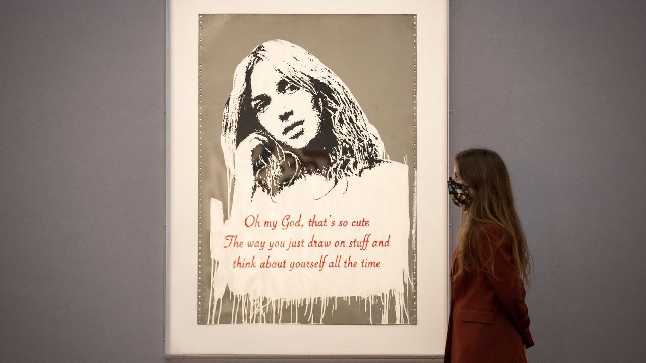 intalent.«Oh my god 2006», una obra de Banksy valorada en más de un millón de euros