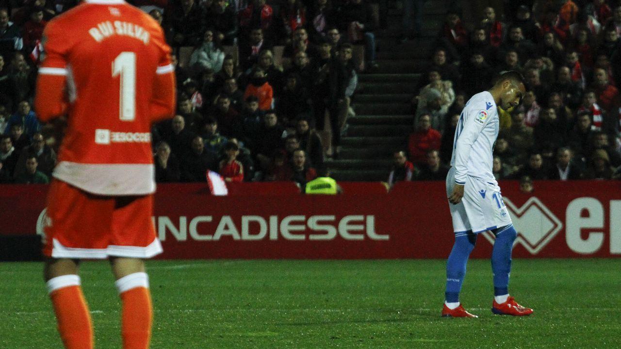 El Deportivo - Nàstic, en imágenes