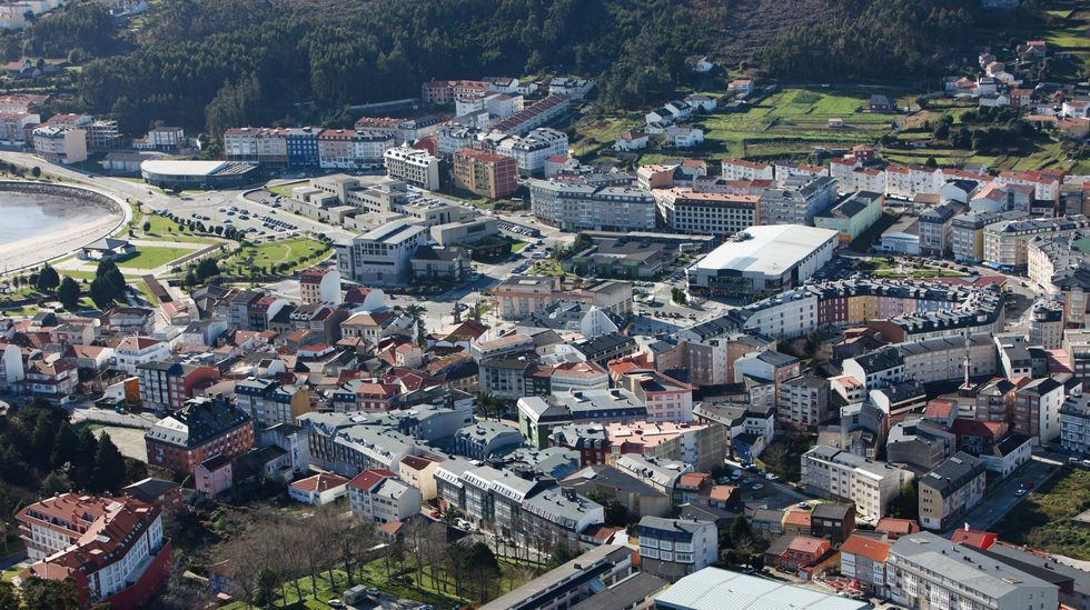 Punto de vacunación contra el covid en el centro de salud del Ventorrillo, en A Coruña