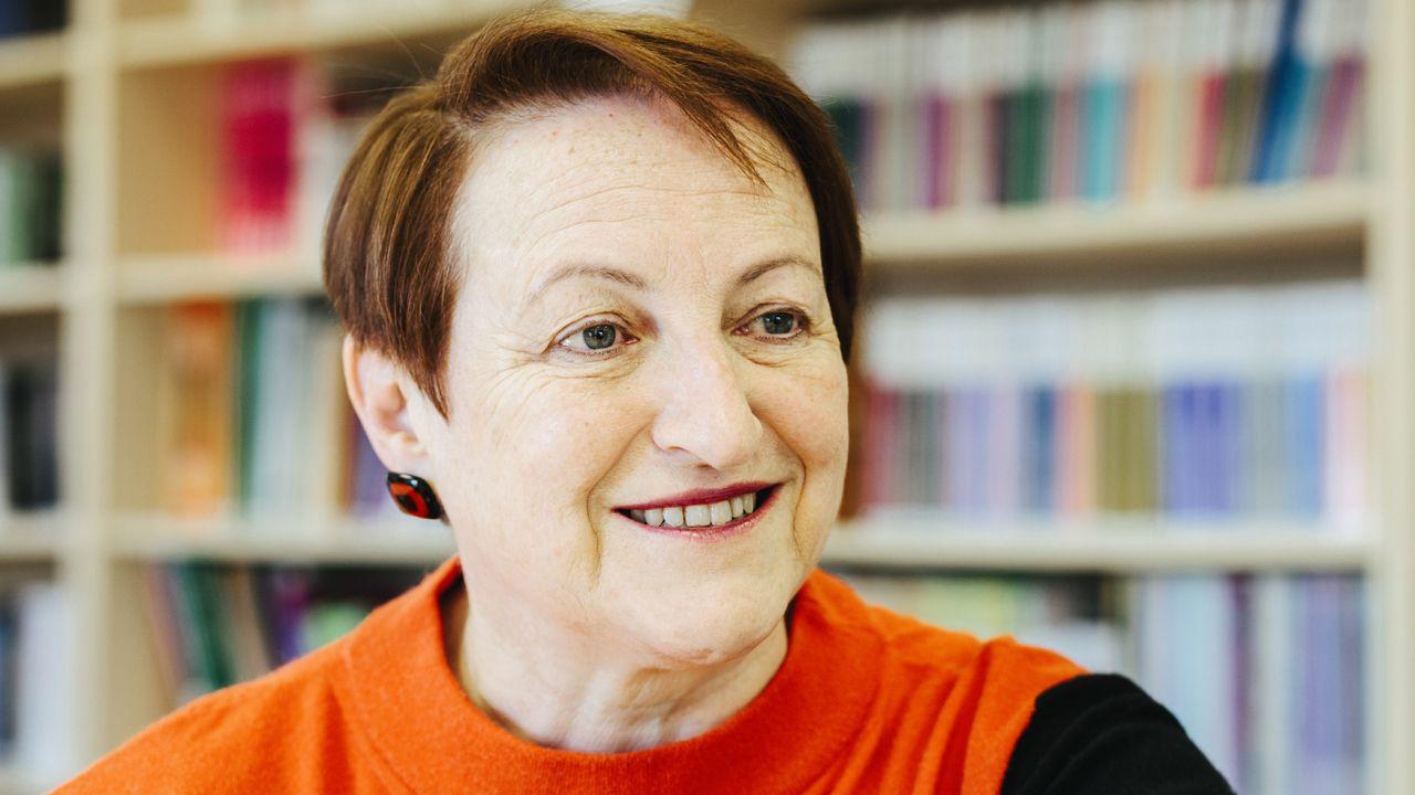 Facultad Biologia.Isabel Carrera, directora del máster de Igualdad de la Universidad de Oviedo
