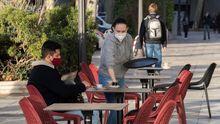 Murcia reabrió ayer parcialmente la hostelería