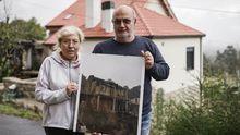Elvira y Carmine ya viven en la casa rehabilitada, a la espera de unos retoques finales
