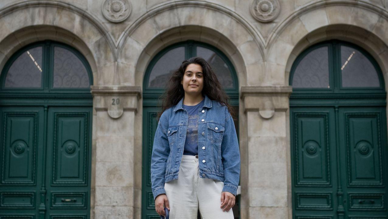 Lucía estudia segundo de bachillerato en el IES Eusebio da Guarda
