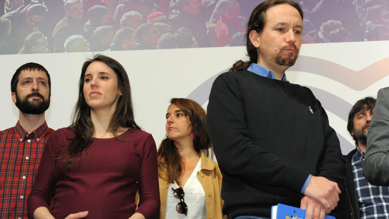 La lista de caídos en Podemos.El portavoz del actual Grupo Mixto, Luís Villares