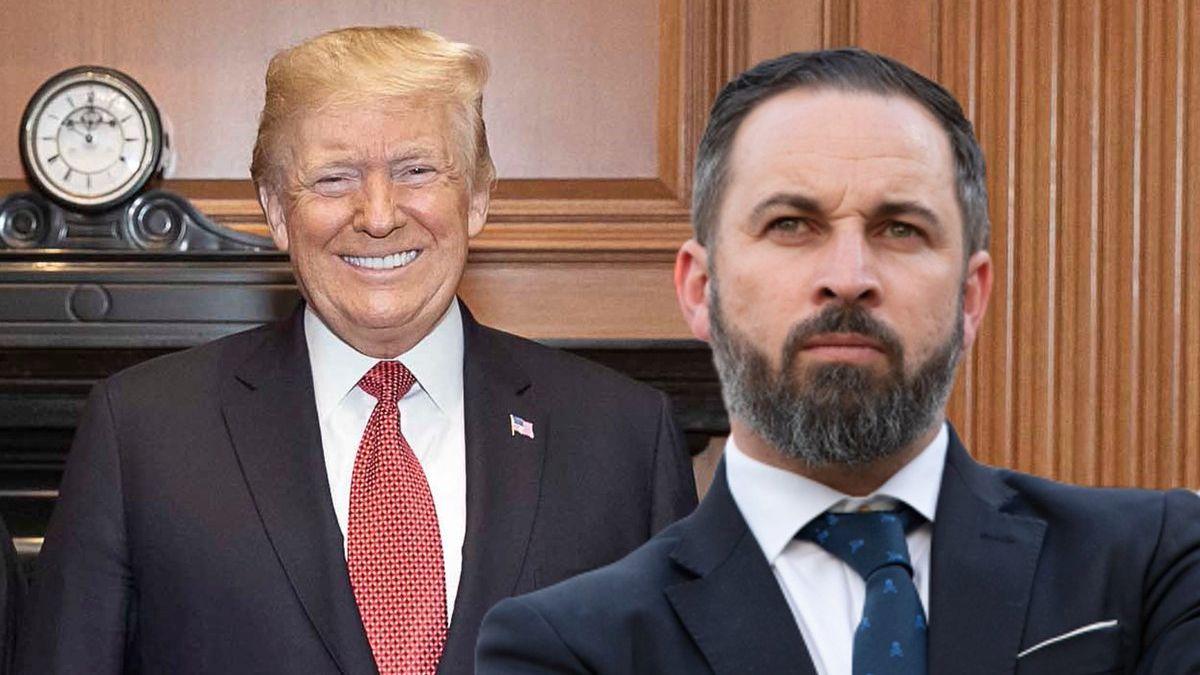 Trump y Abascal