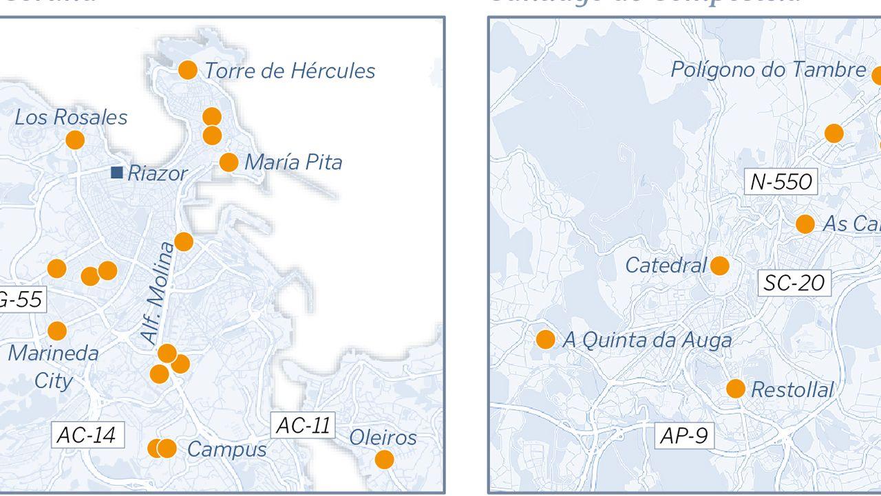 ¿Dónde puedo cargar mi coche eléctrico en Galicia?