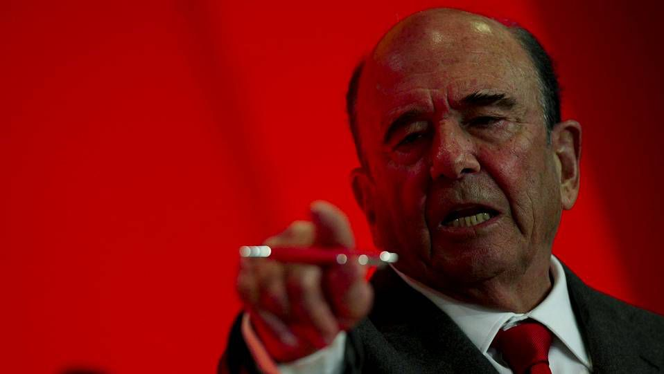 Javier Marín, ayer en la presentación de los resultados.