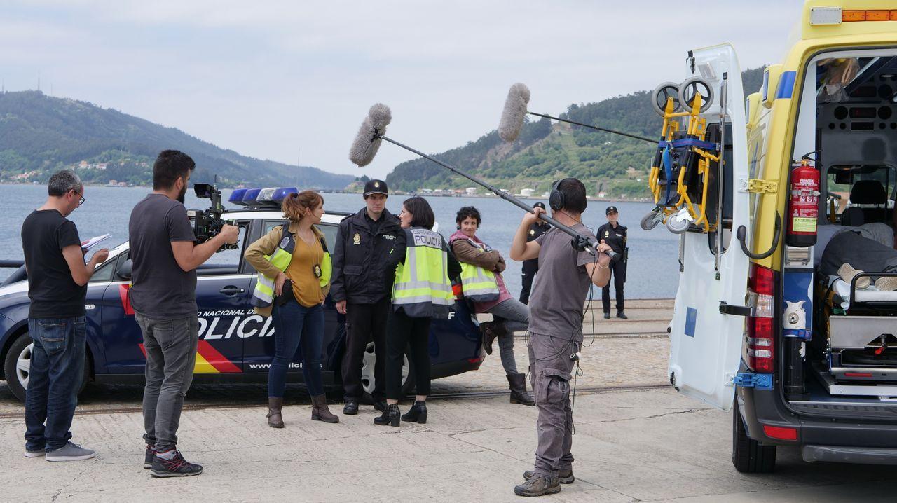 El «thriller» policial «A estiba» llega a TVG.Paula Cereixo y Nacho Nugo, formados en la Escuela de Ficción, participan ahora en «A Estiba»