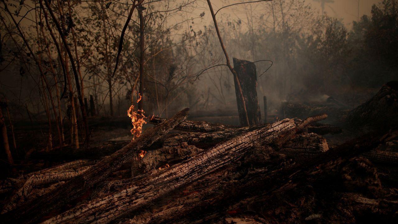 Incendios en Porto Velho, Brasil