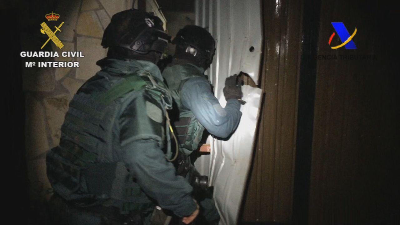 Detenida una banda de narcos que robaban droga a otros traficantes