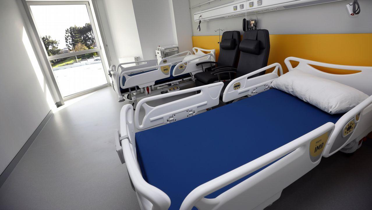 Así luce la nueva ampliación del Hospital da Mariña