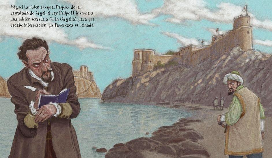 Compostela a vista de lápiz