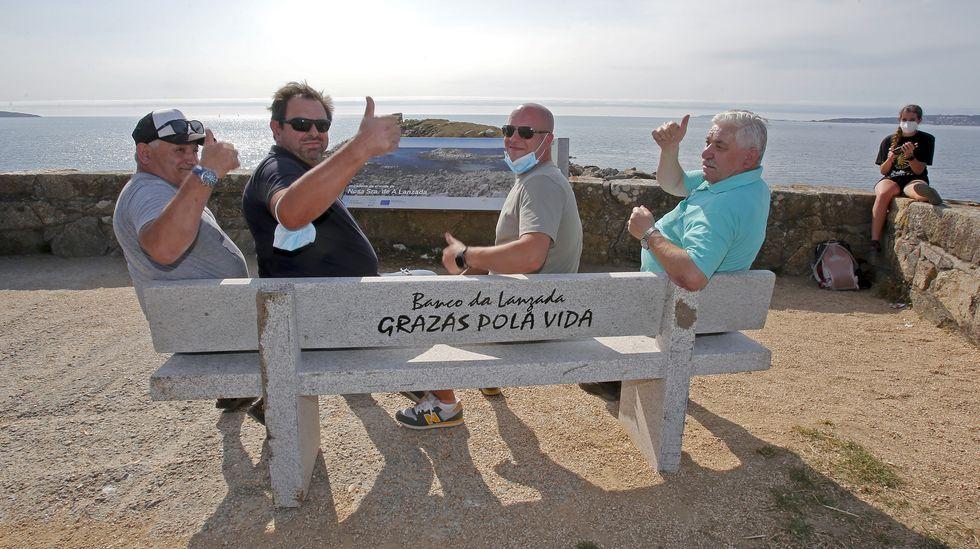 «Grazas pola vida».Uno de los yates, de 52 pies, que alquila en la ría de Pontevedra la empresa Sea Galicia