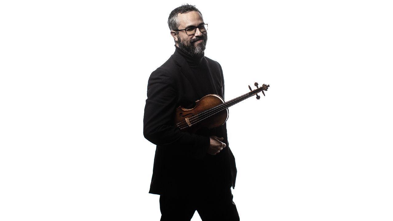 O violinista ourensán Cibrán Sierra