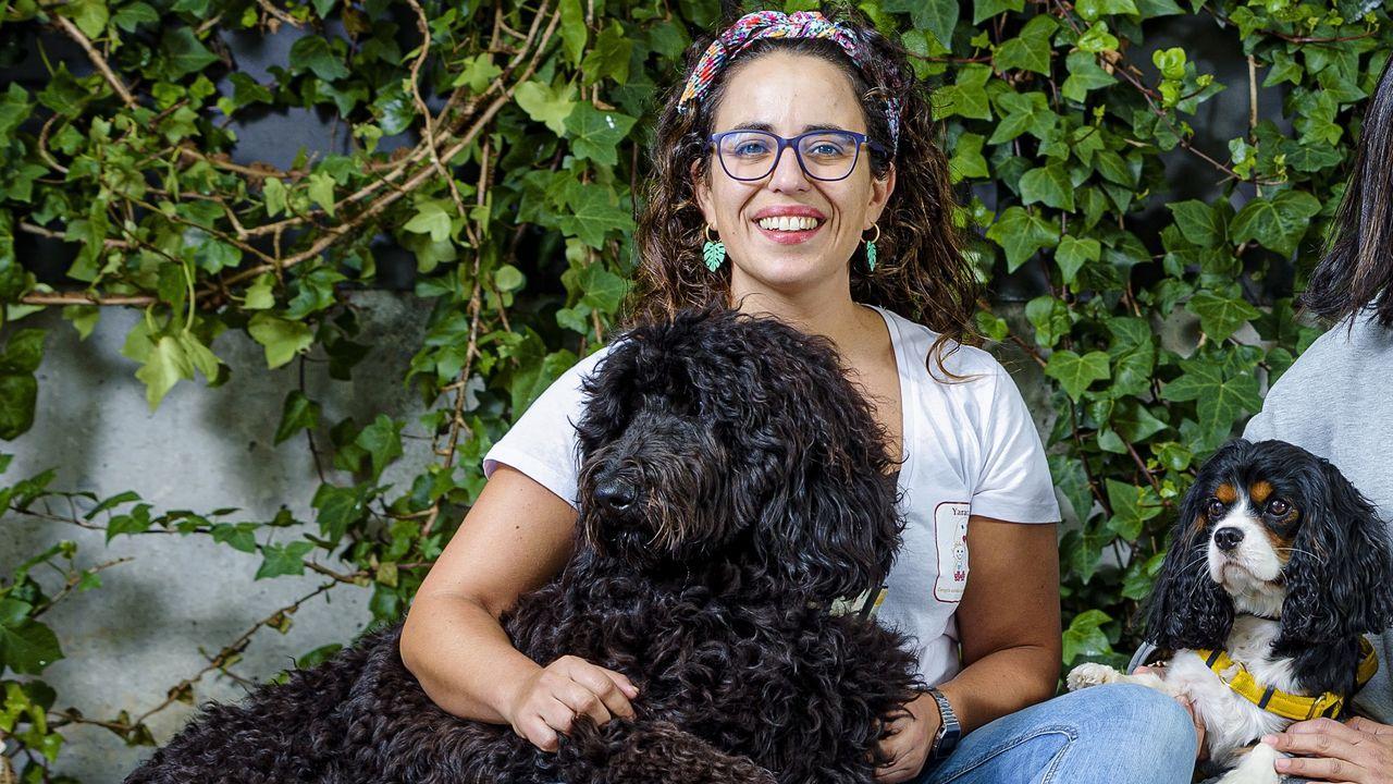 Julia Correa, directora de la organización de terapia asistida con animales Yaracan, de Vigo