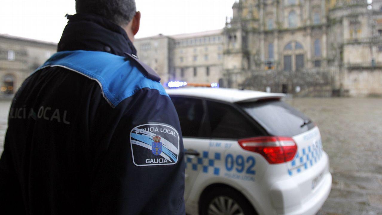 Imagen de archivo de la policía local de Santiago