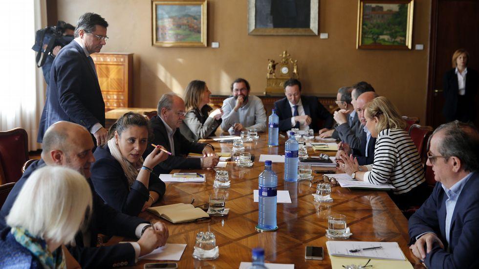 CISH.Javier López Madrid, a su salida de la Audiencia Nacional el pasado mes de abril