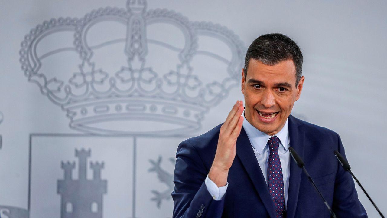 En directo | Comparecencia de Pedro Sánchez tras el Consejo de Ministros.La presidenta de la Comisión Europea, Ursula von der Leyen