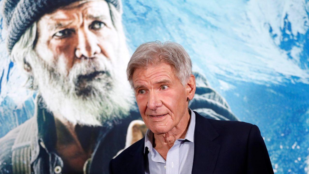 Harrison Ford se declara un hombre feliz