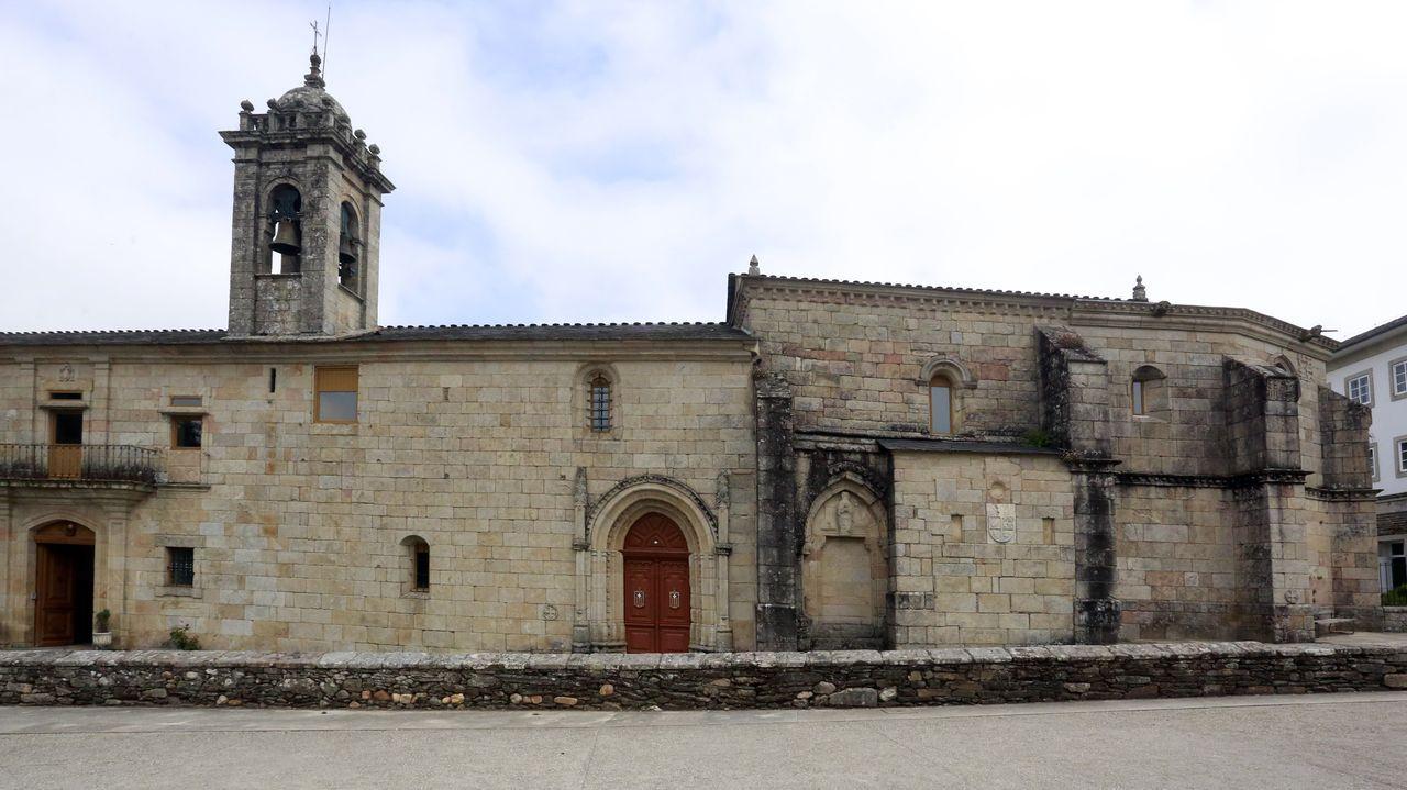 Fachada del monasterio de La Magdalena de Sarria