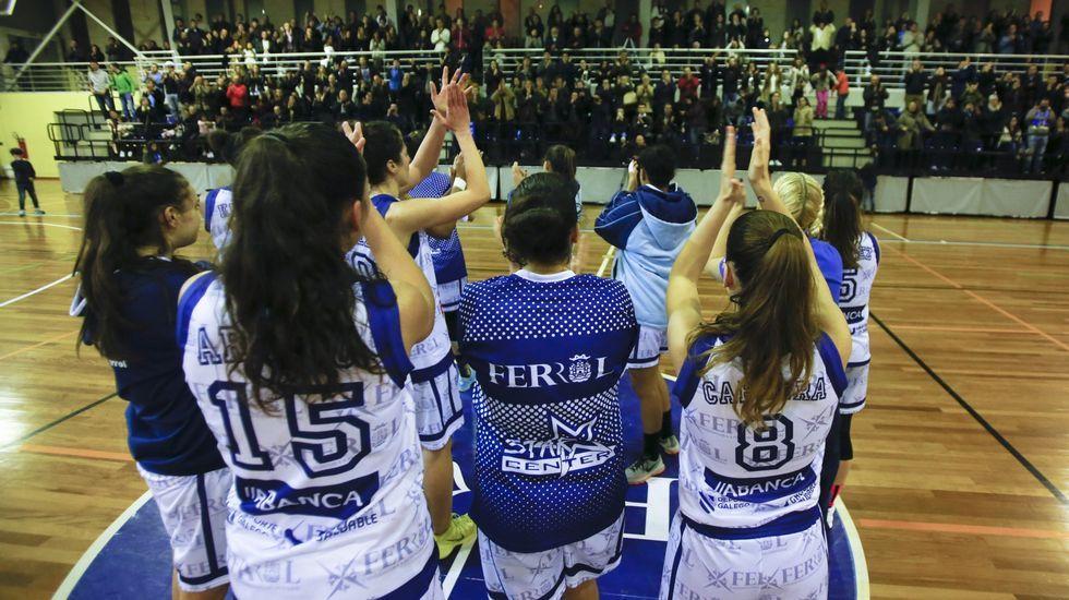 El Star Center Uni Ferrol se va consolidando en la élite del baloncesto femenino español