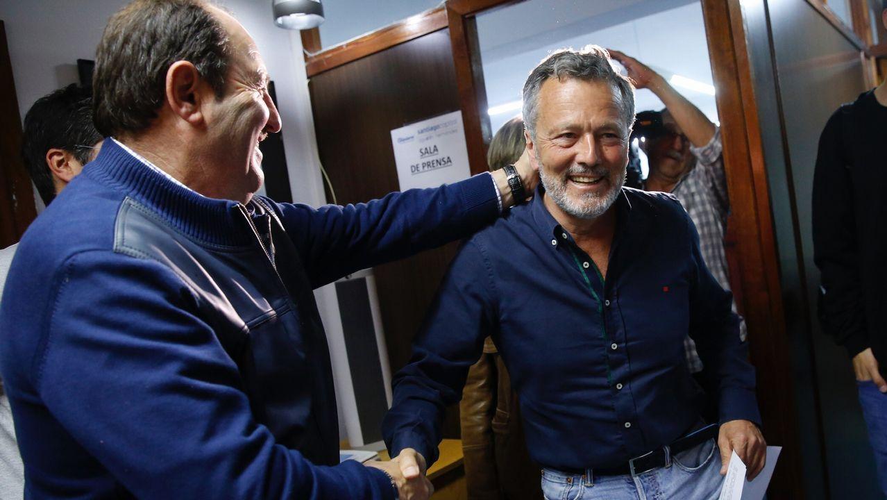 Agustín Hernández, candidato del PP en Santiago